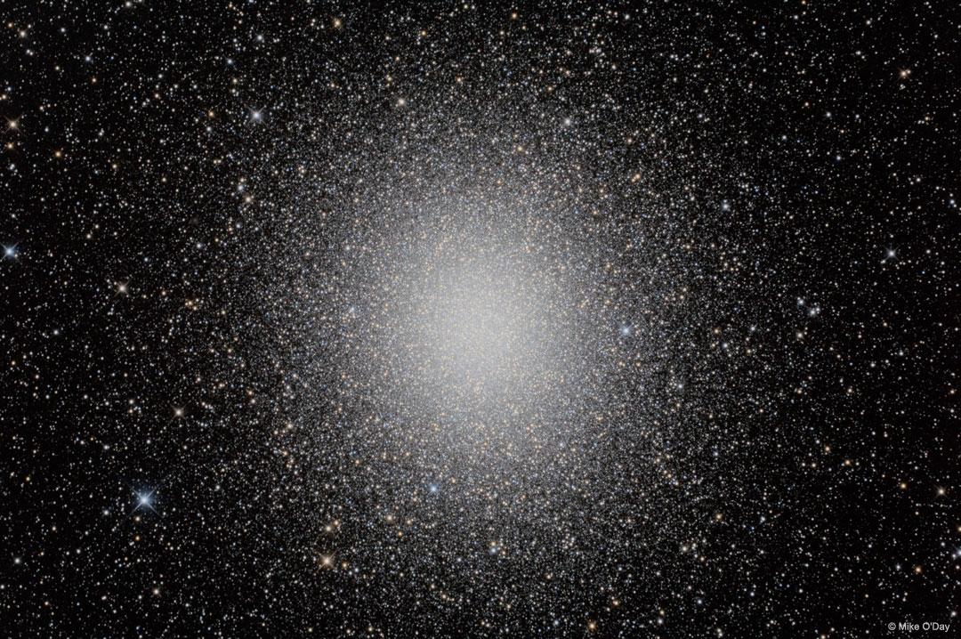 Cúmulo estelar Omega Centauri en HDR