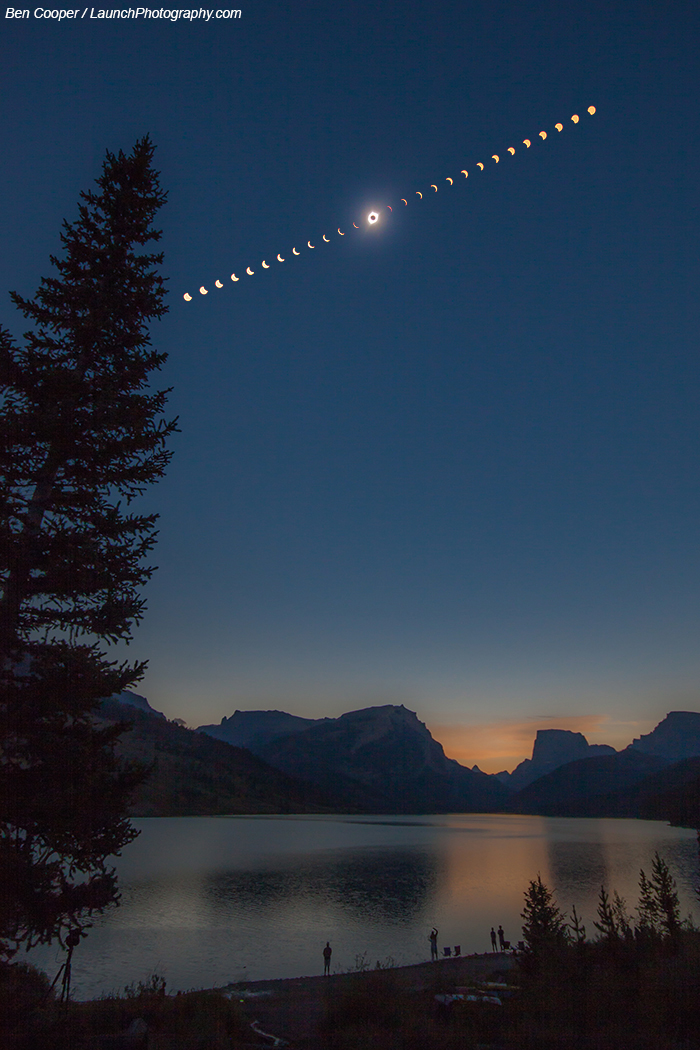 2017 August 22 - A Total Solar Eclipse over Wyoming