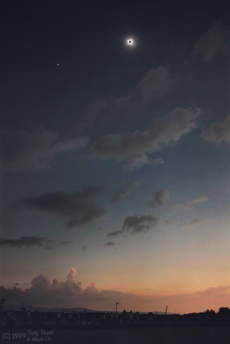 Un eclipse solar total de Saros 145