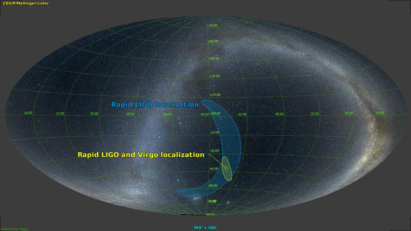 APOD LIGO/Virgo localization
