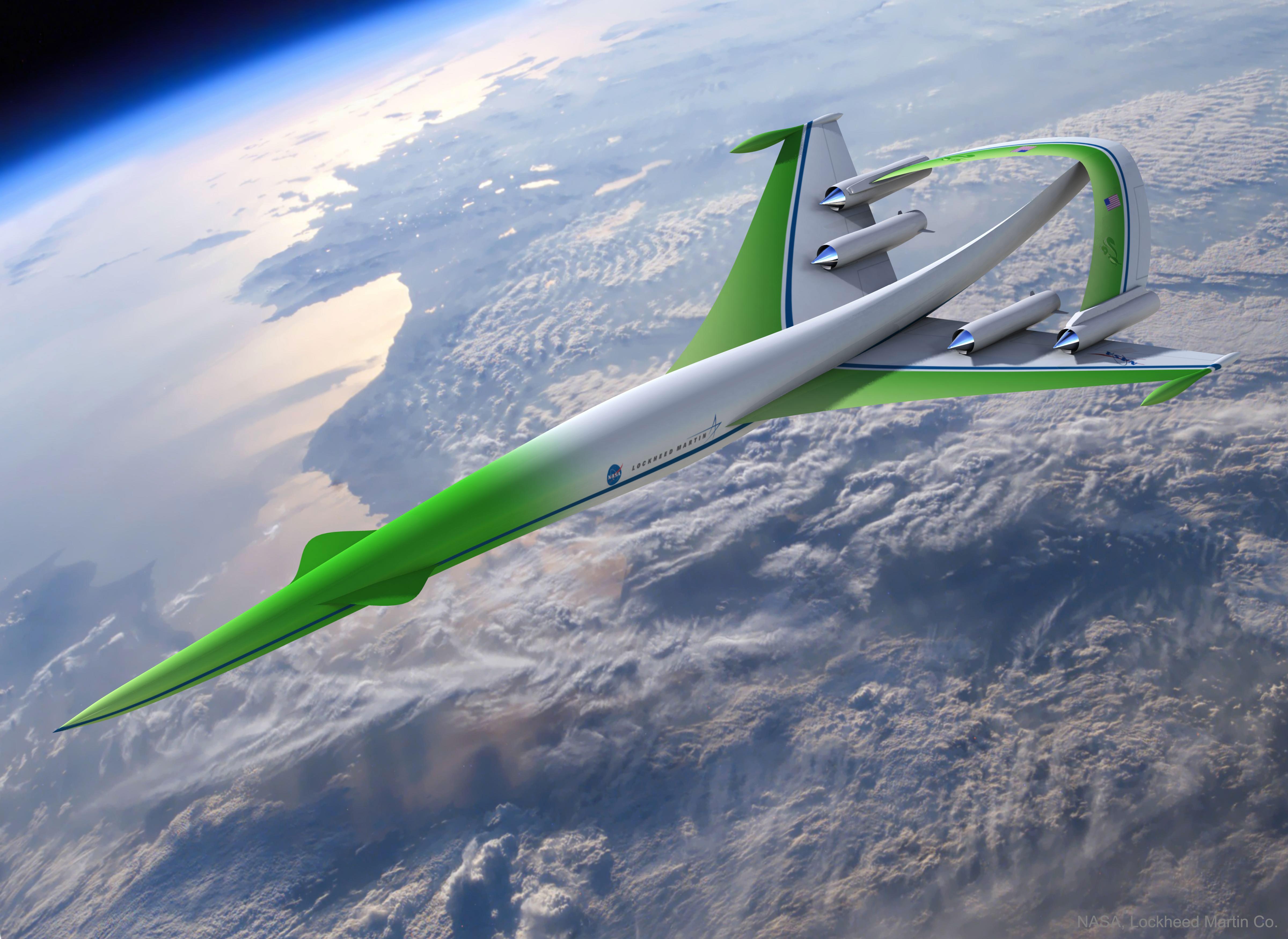 2017 October 1 - Concept Plane: Supersonic Green Machine