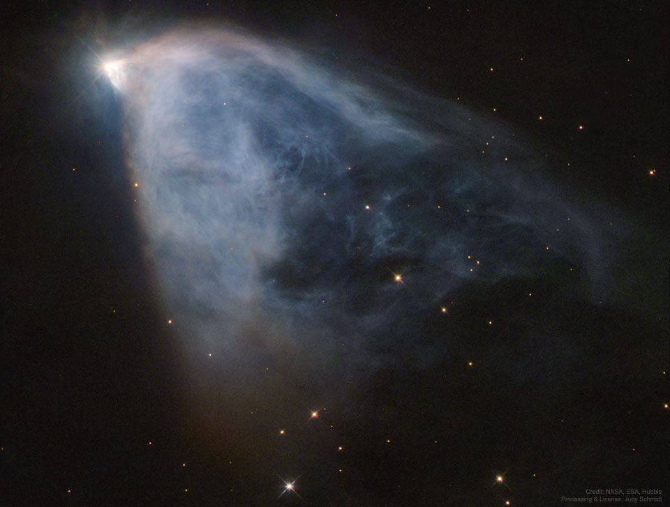 NGC 2261: Nebulosa Variable del Hubble
