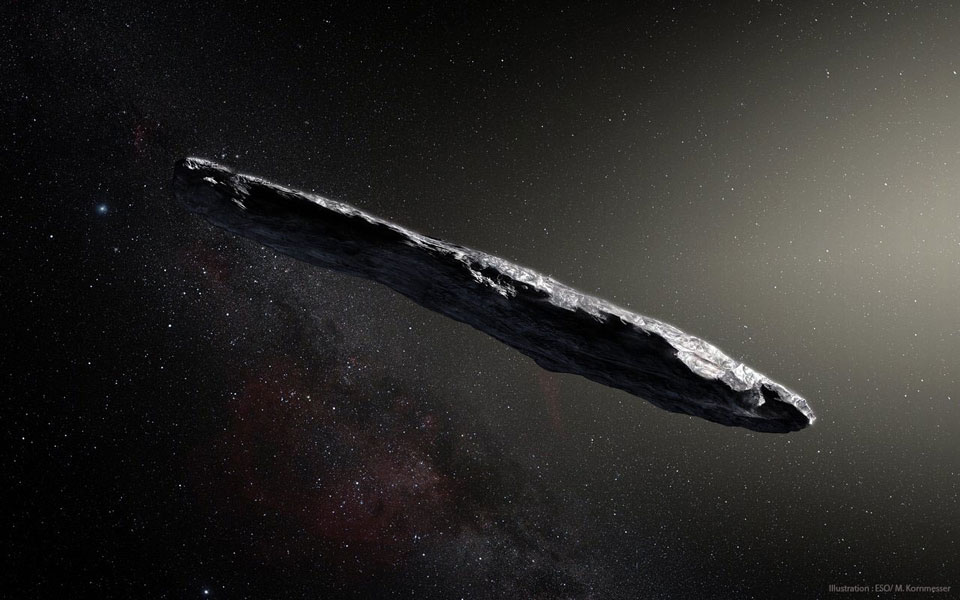 'Oumuamua, el asteroide interestelar