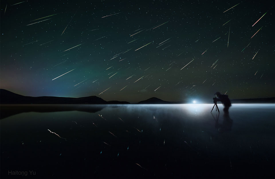 Did you ever get caught in a meteor shower?