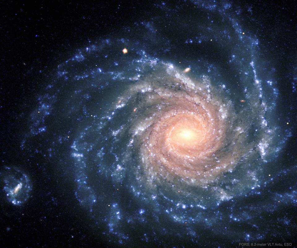 Spirální galaxie NGC 1232