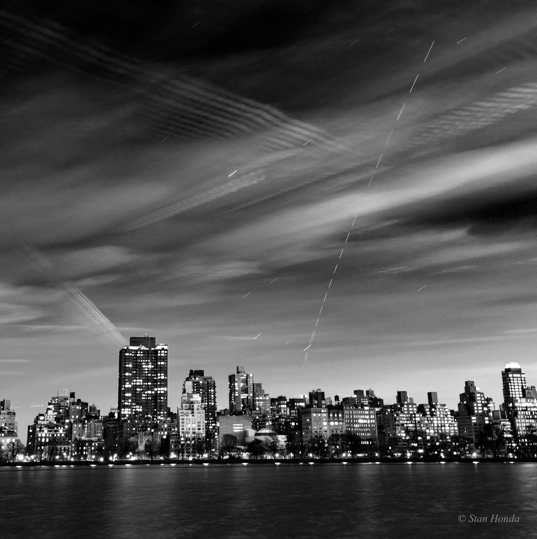 Apod 2018 February 17 Manhattan Skylines