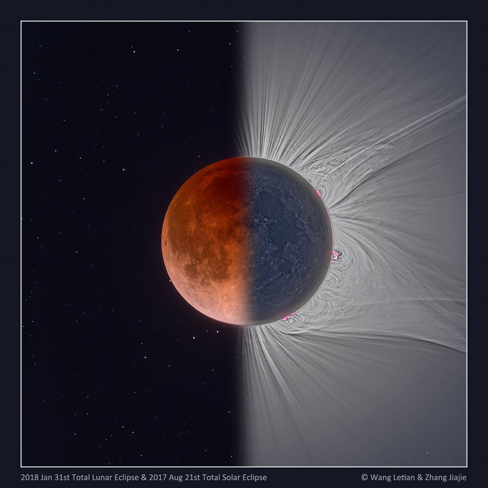 Eclipse lunar solar total