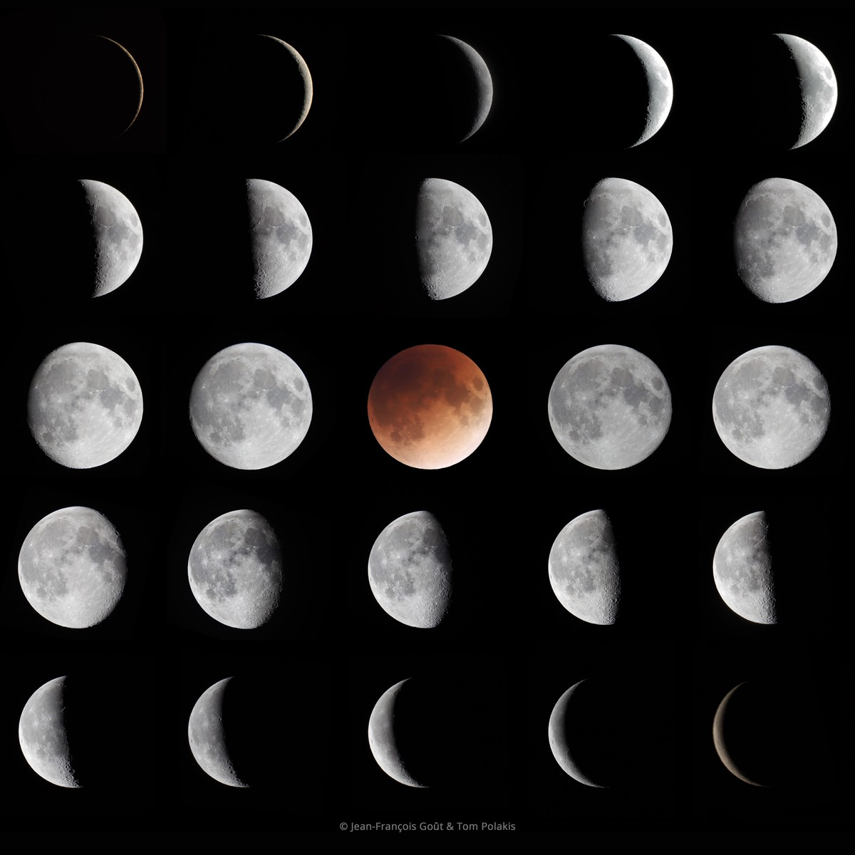 APOD: 2018 March 10 - Phases of the Moon