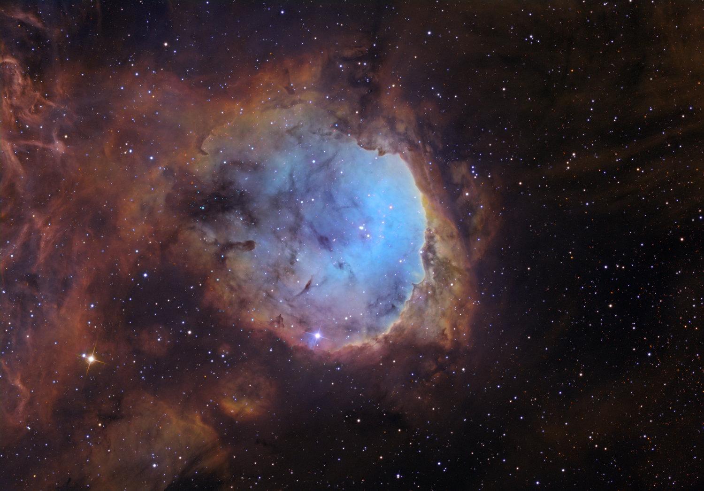 NGC 3324 in Carina