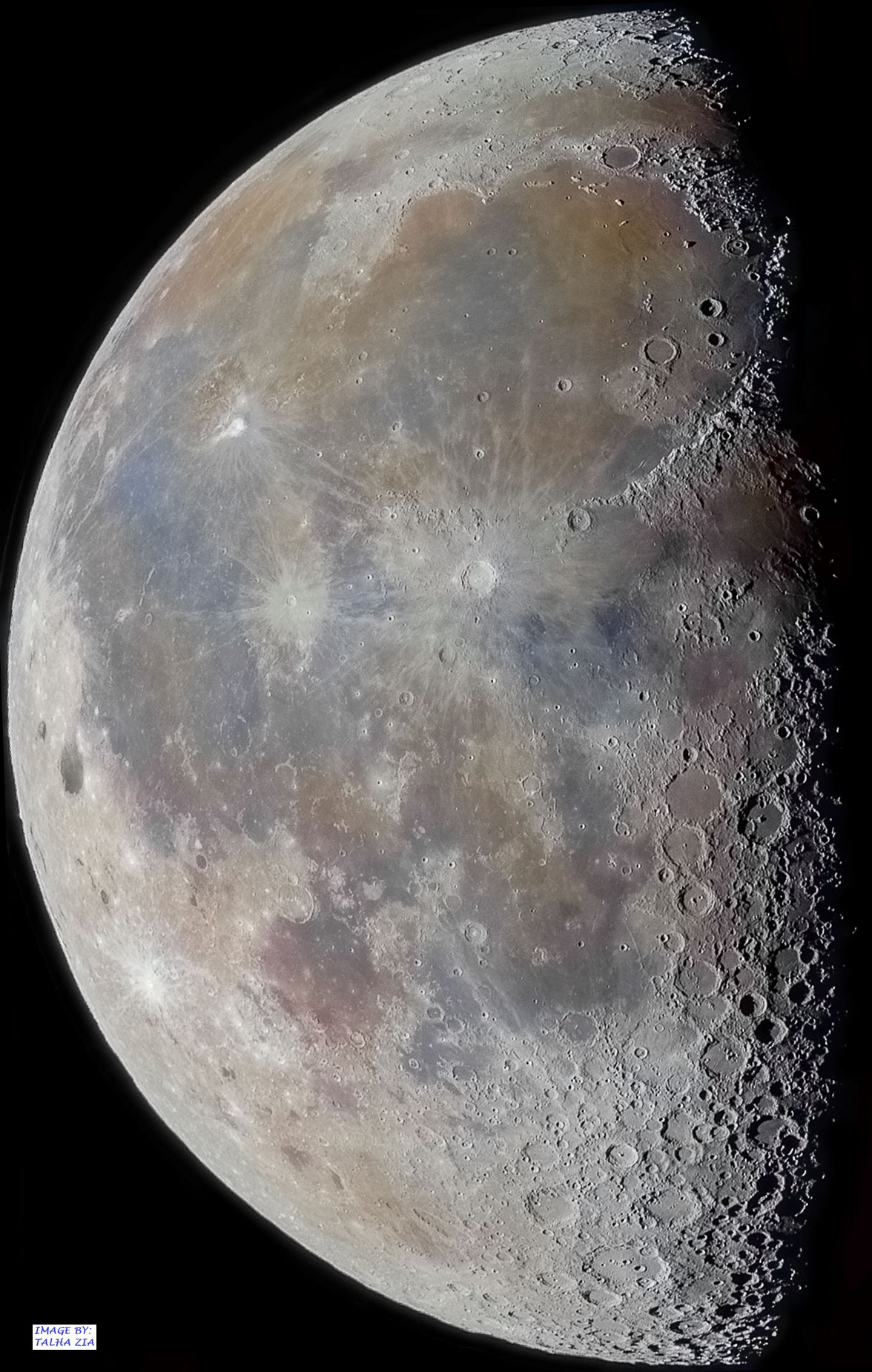 [ASTRONOMIA]   Craters and Shadows at the Lunar Terminator