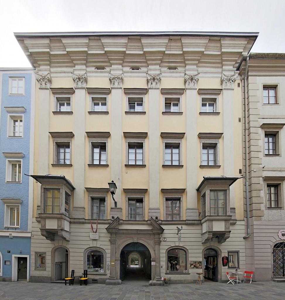 La casa de Kepler en Linz