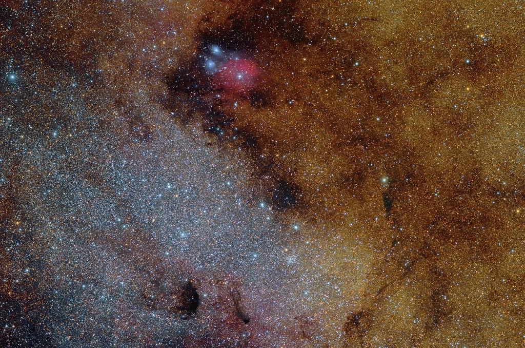 Messier 24: Nube estelar de Sagitario