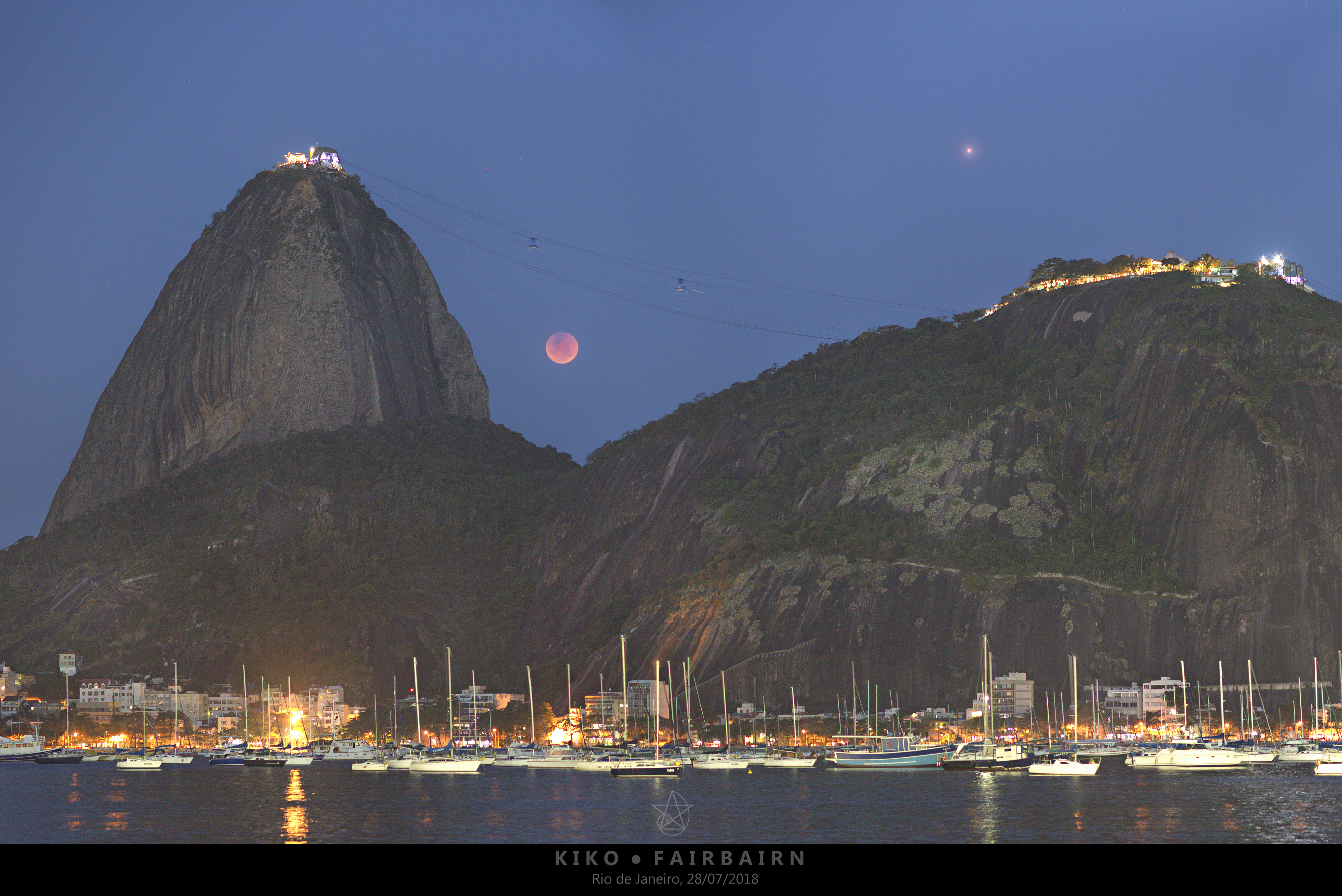 APOD: 2018 July 30 - Lunar Eclipse over Rio