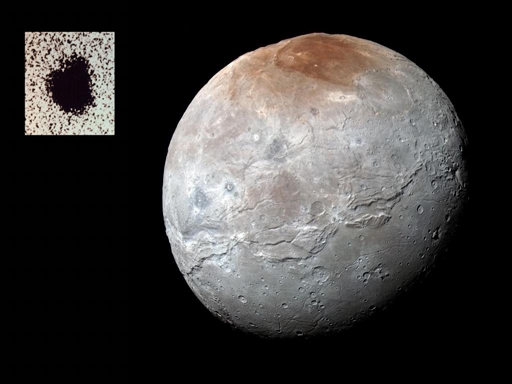 Caronte: Luna de Plutón