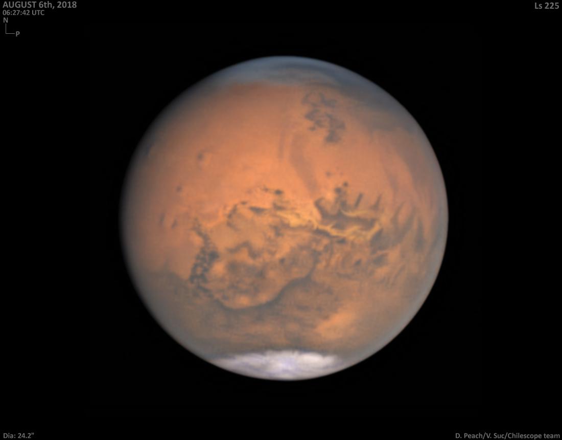 Marte de cerca