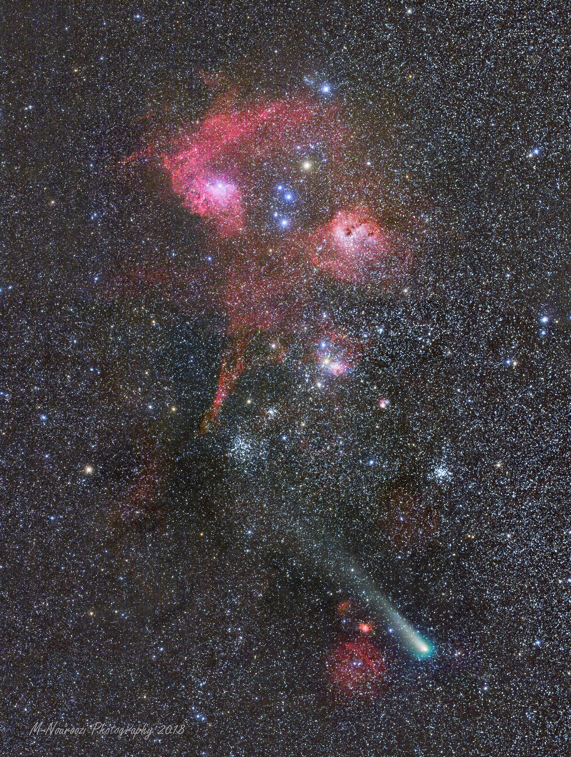 nasa comet tracking - HD800×1060
