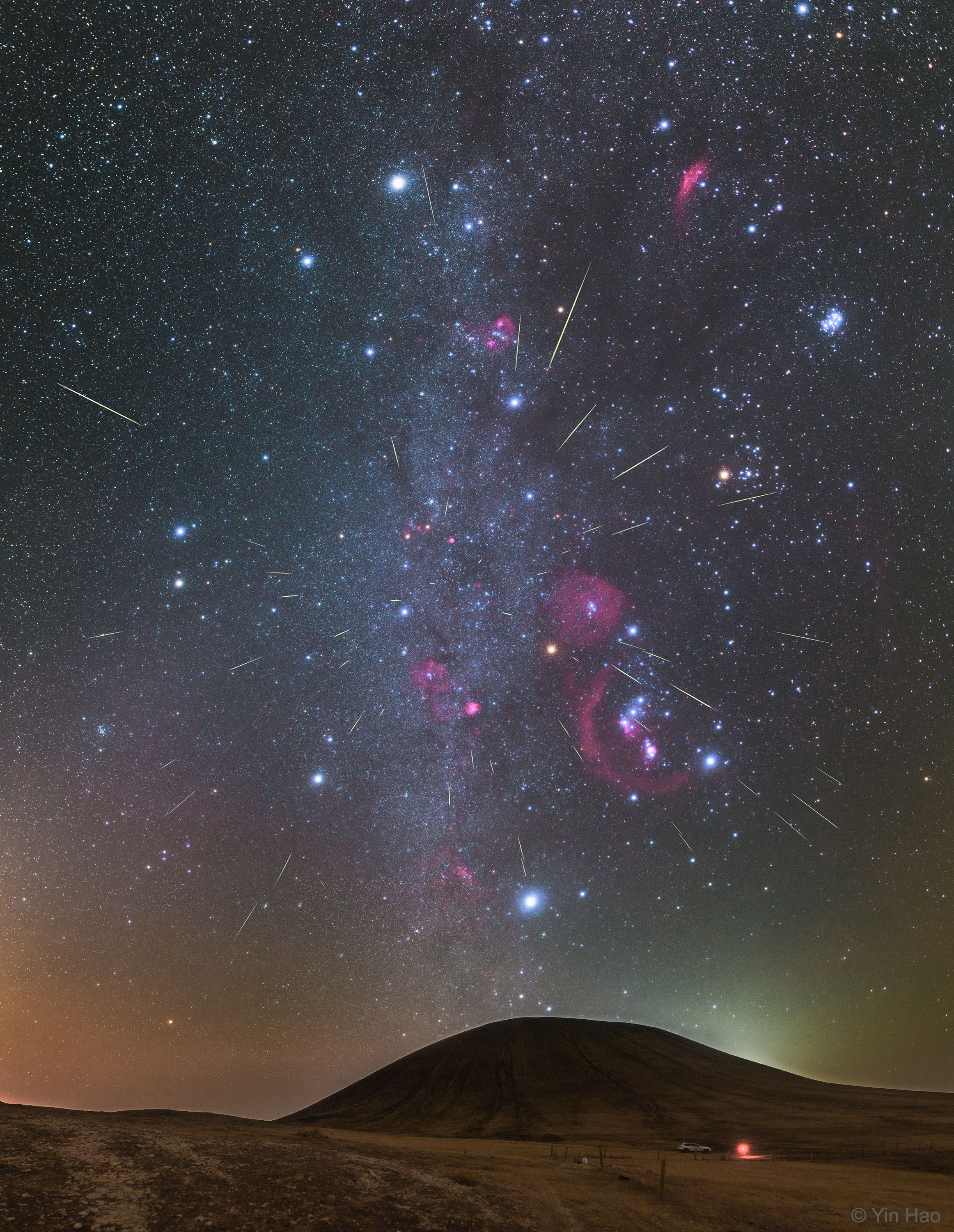 [ASTRONOMIA]   Orionids Meteors over Inner Mongolia