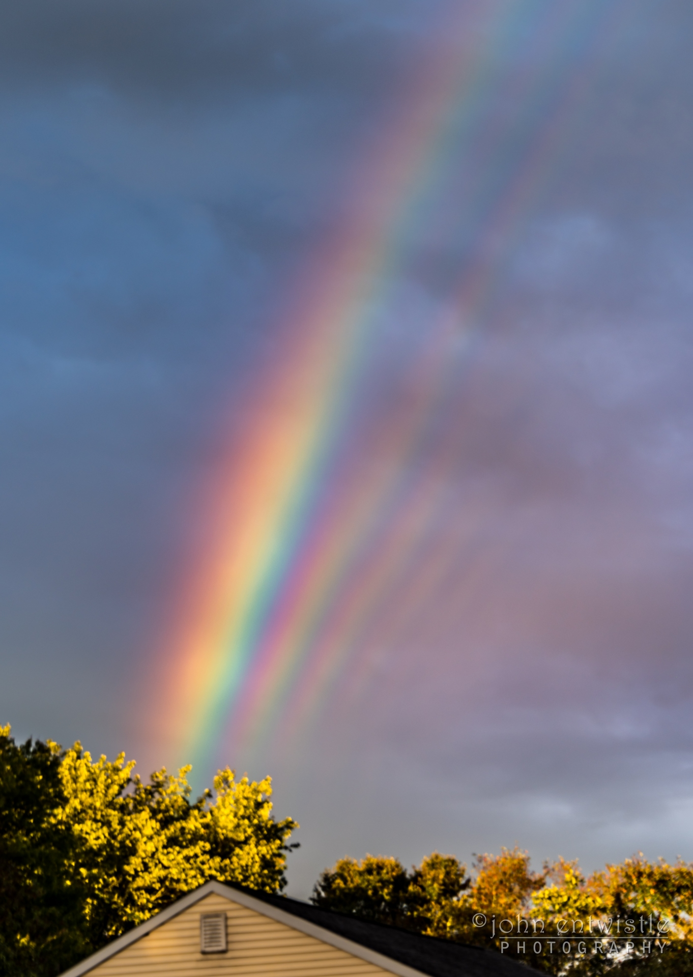 [METEOROLOGIA]   Supernumerary Rainbows over New Jersey