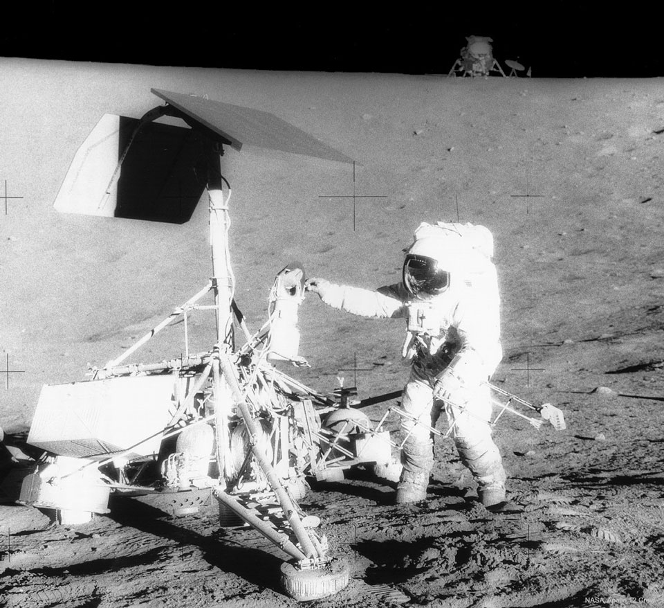 Apollo 12 Visits Surveyor 3