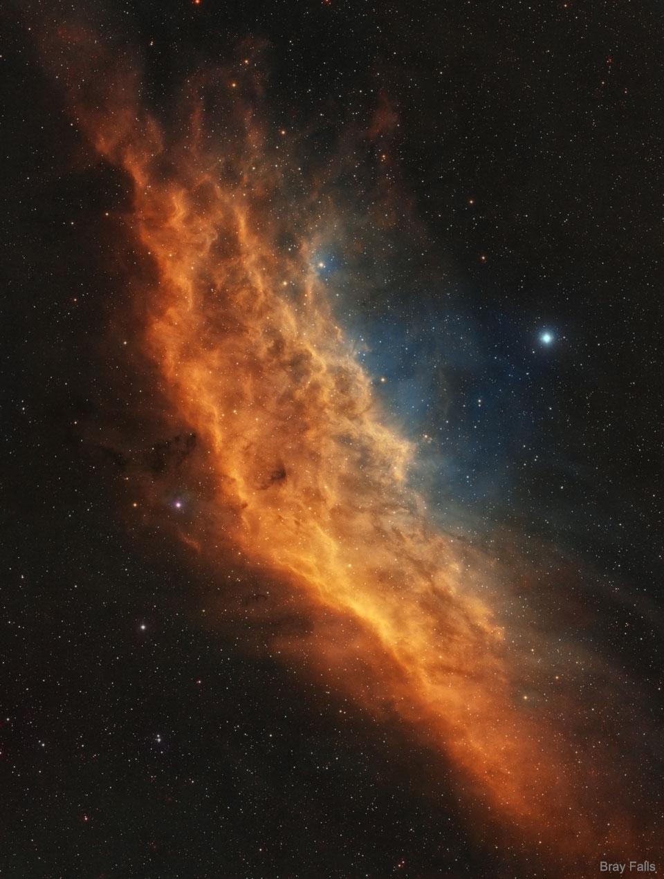 NGC 1499: la nebulosa de California