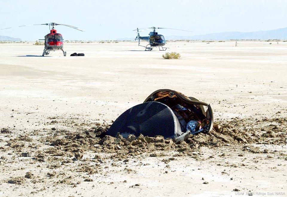 Platillo volador se estrella en el desierto de Utah