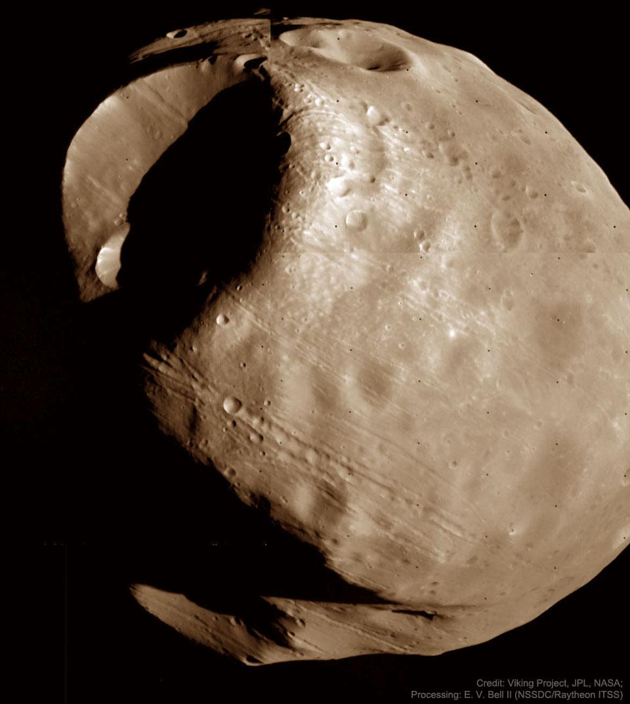 Phobos: luna condenada de Marte