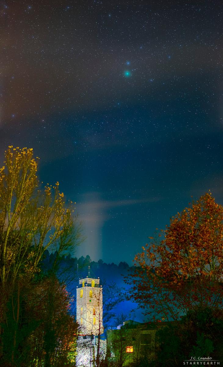 Cometa Wirtanen en diciembre