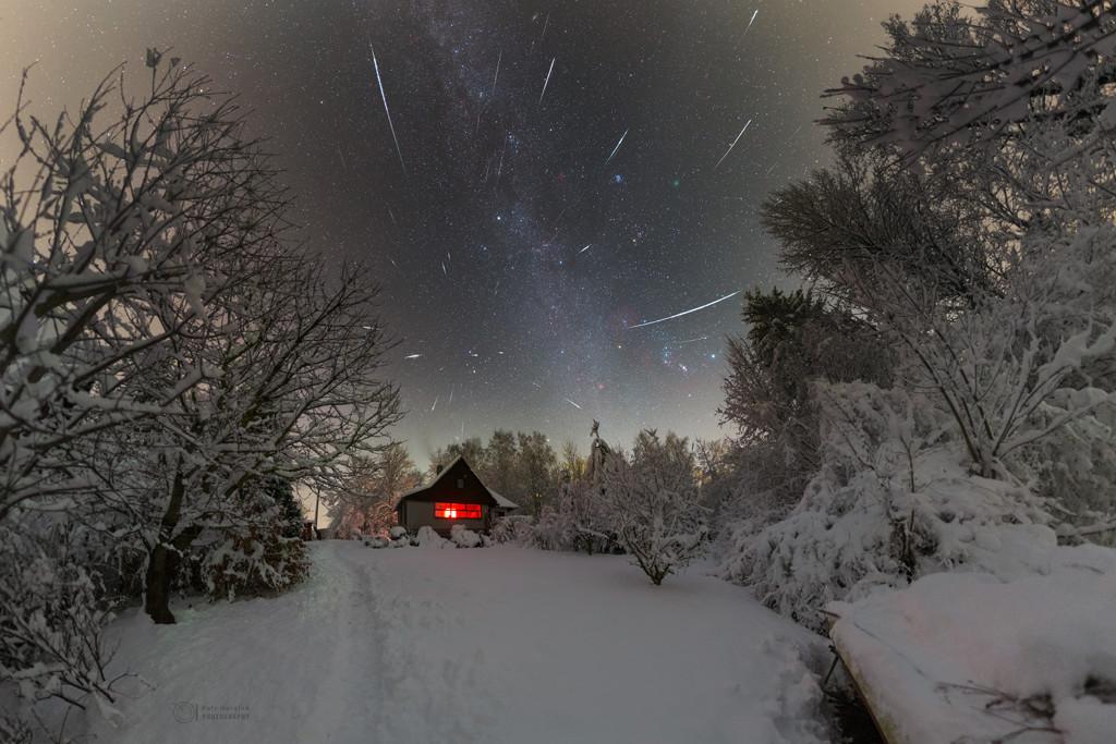 Una noche fría de diciembre