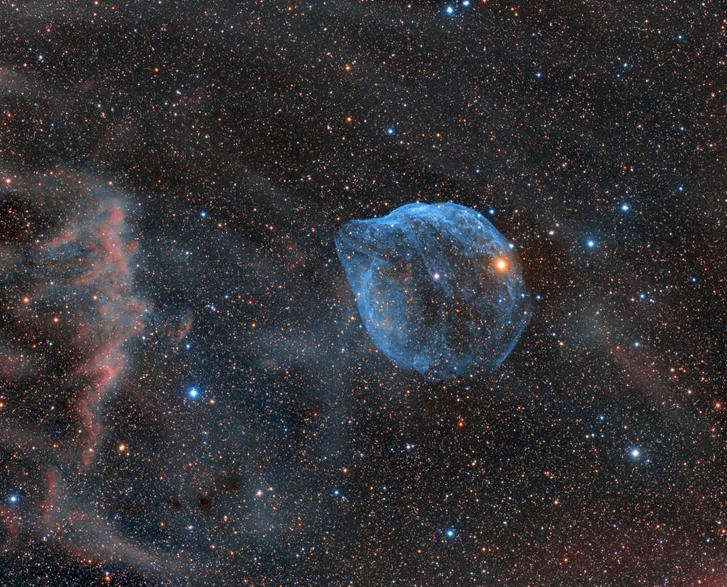 Sharpless 308: burbuja de estrella