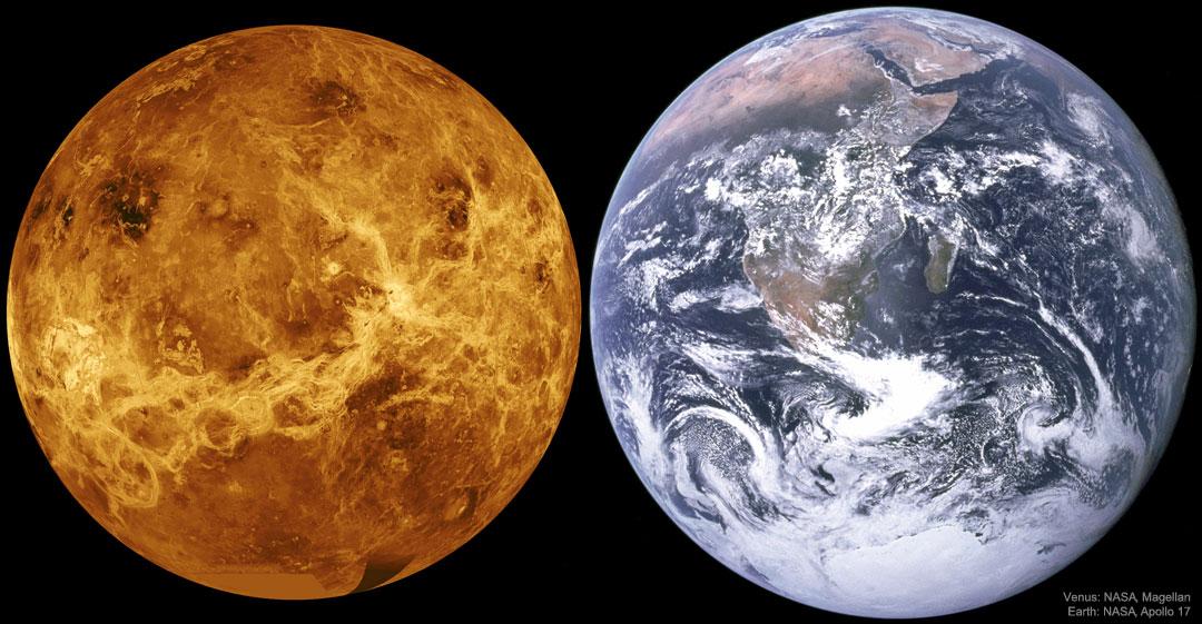 Venus se dio a conocer