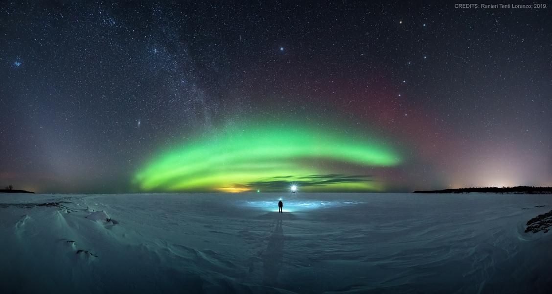 Symfonie severní zimní oblohy