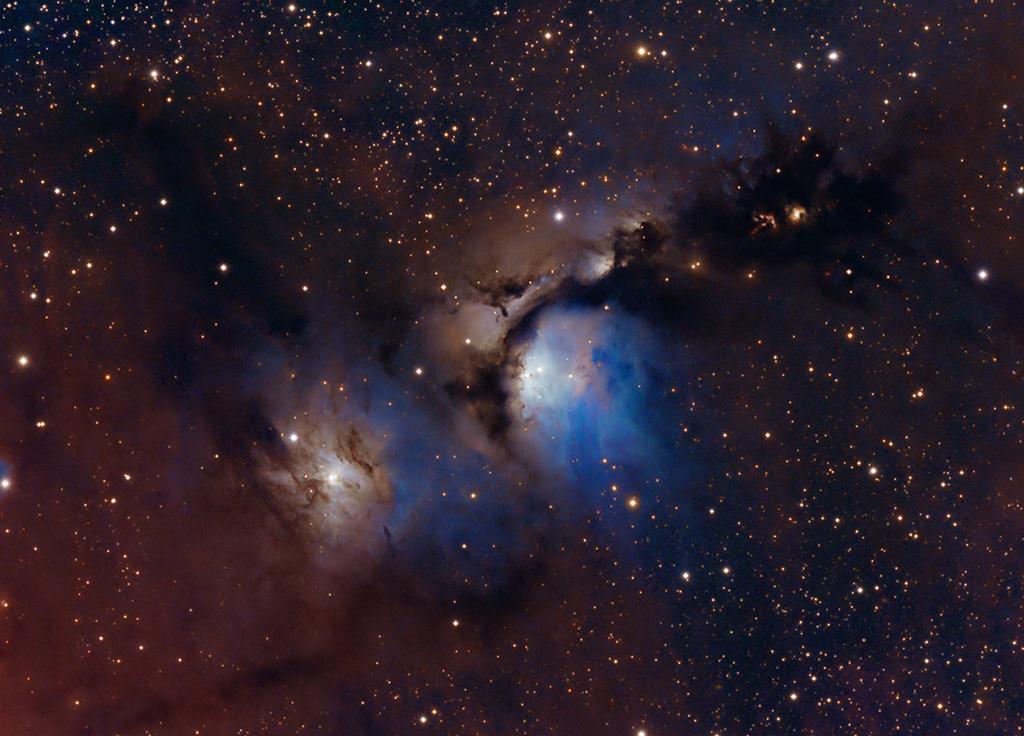 Polvo y luces estelares en M78