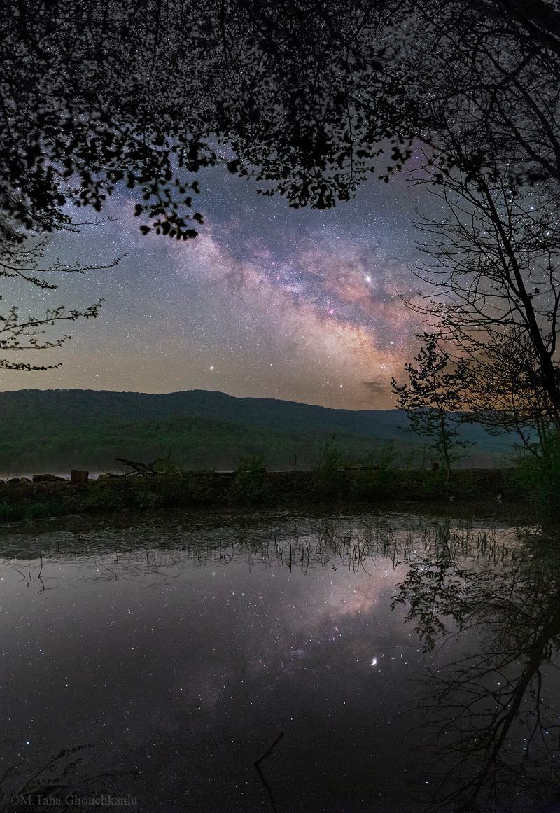 Milky Way in Northern Spring