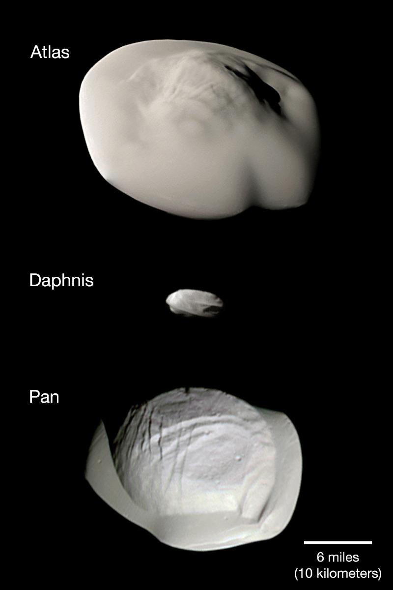 Atlas, Dafnis a Pan