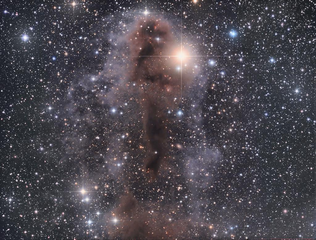 Nebulosa oscura Lynds 1251