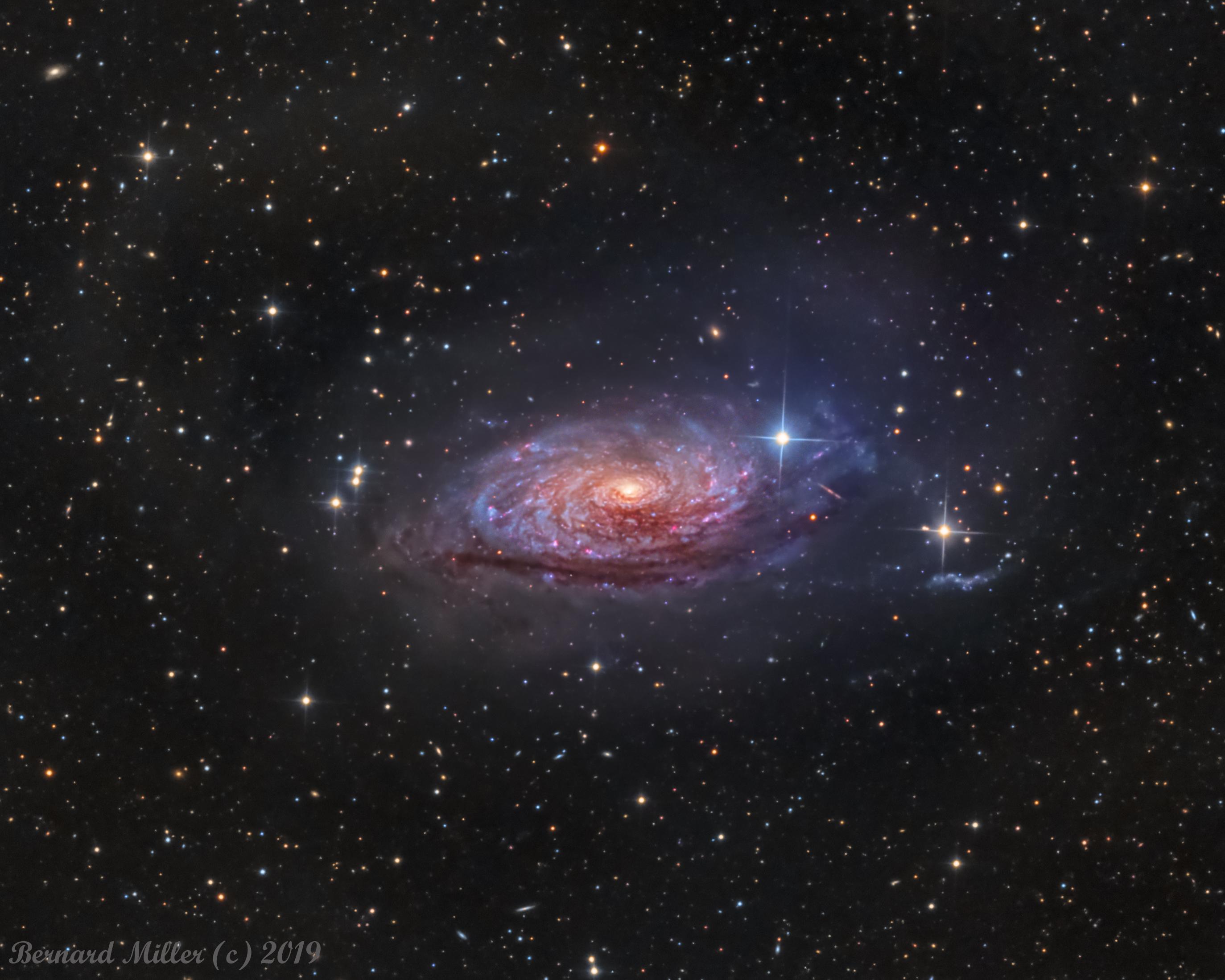 APOD: 2019 June 6 - Messier 63: The Sunflower Galaxy
