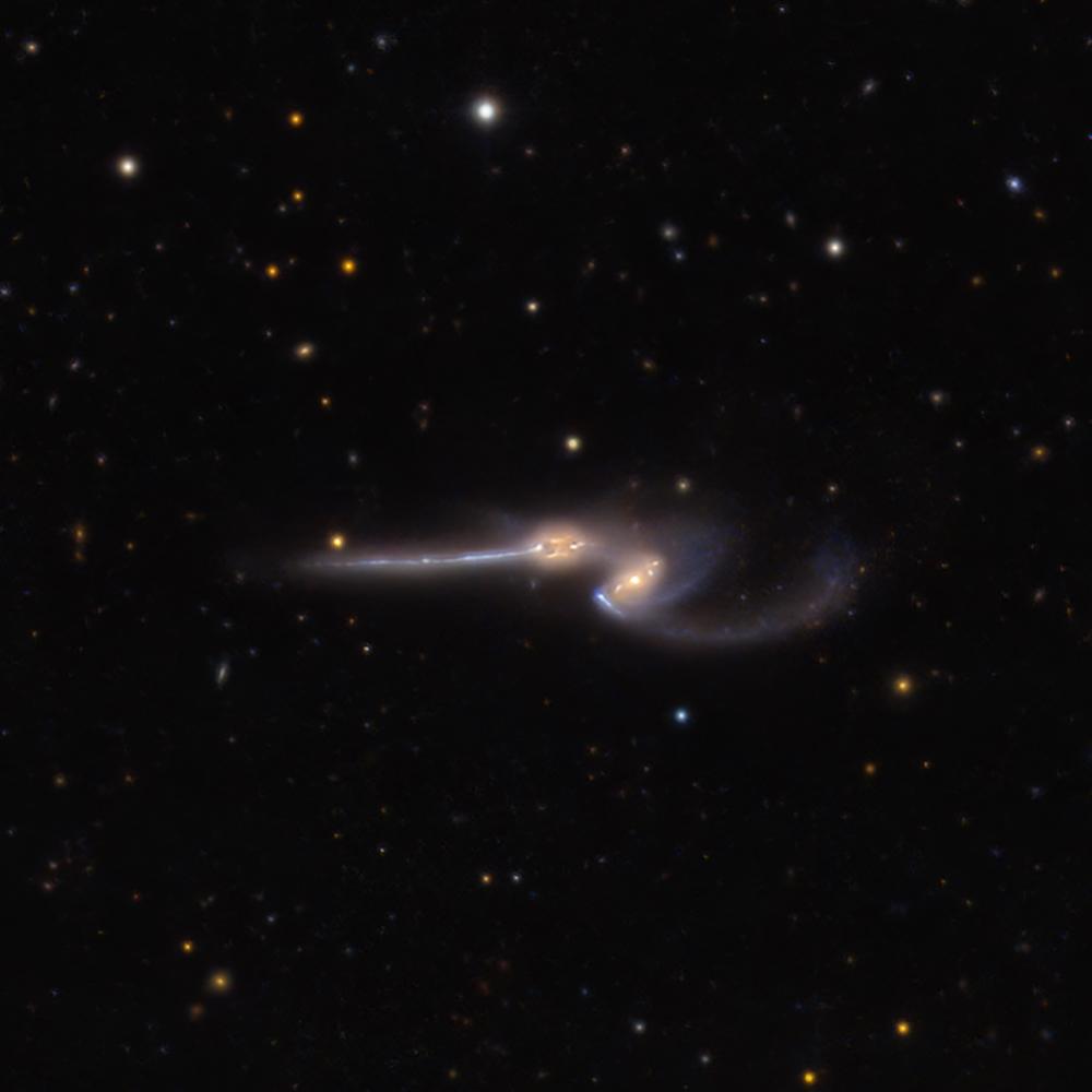 NGC 4676: Mocné myši