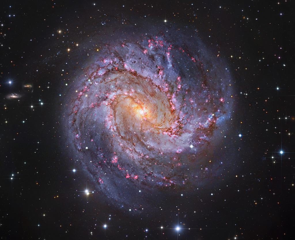 M83: Galaxie tisíce rubínů
