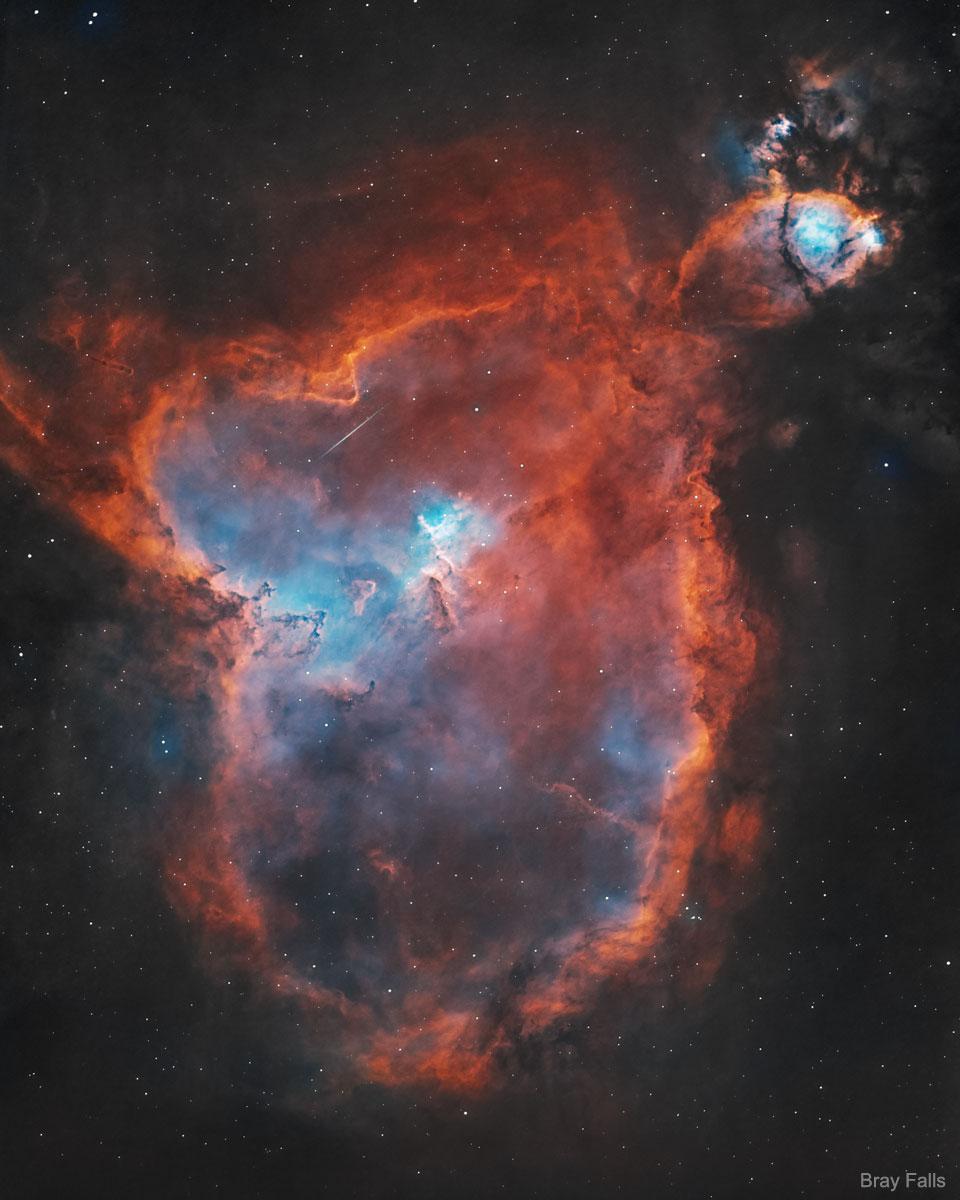 IC 1805: la nebulosa del corazón