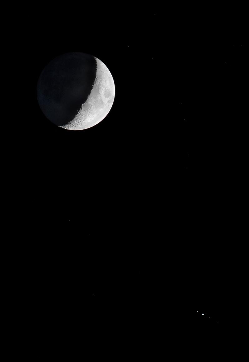 Jupiter a měsíce