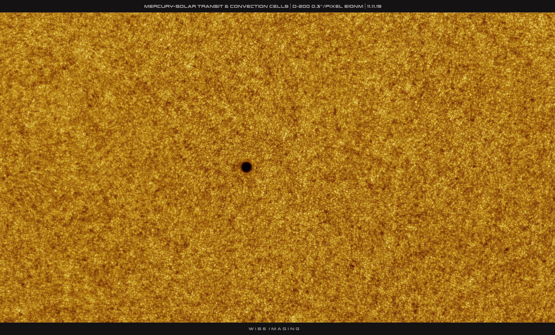 APOD: 2019 November 13 - Mercury in Silhouette