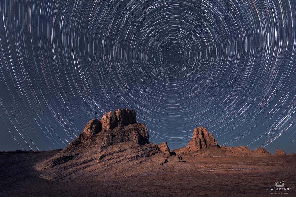 Senderos de estrellas para un planeta rojo