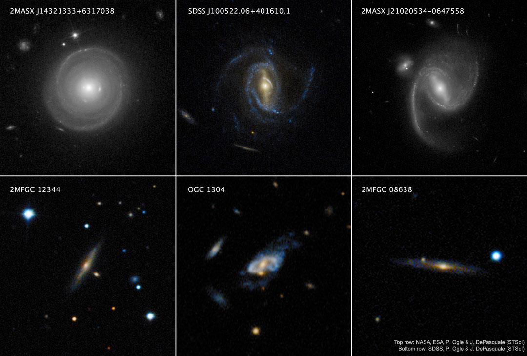 58 - NOVEMBAR - 2019. SuperSpirals_HubbleSDSS_1080
