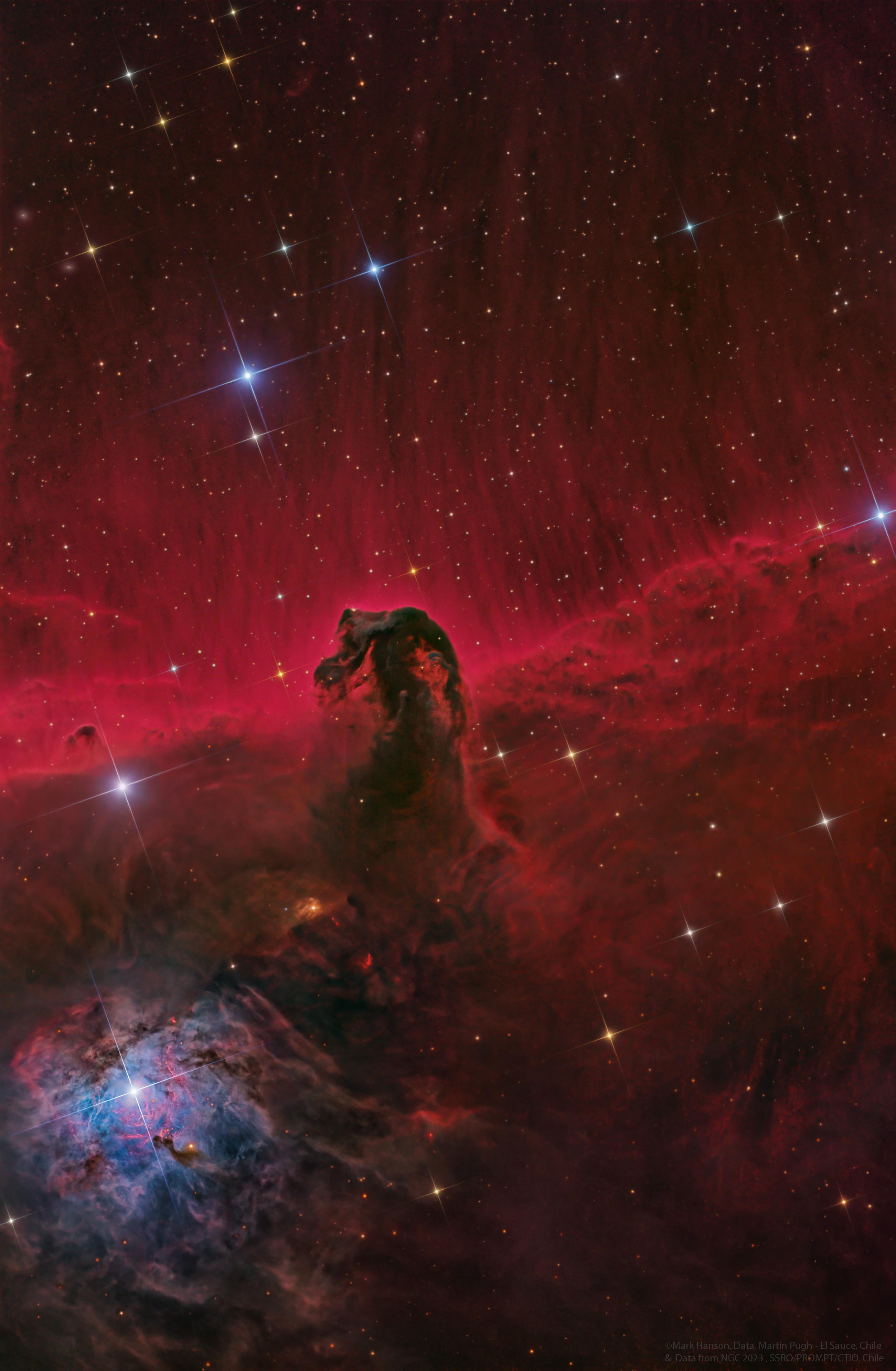 APOD: 2019 December 17 - The Horsehead Nebula