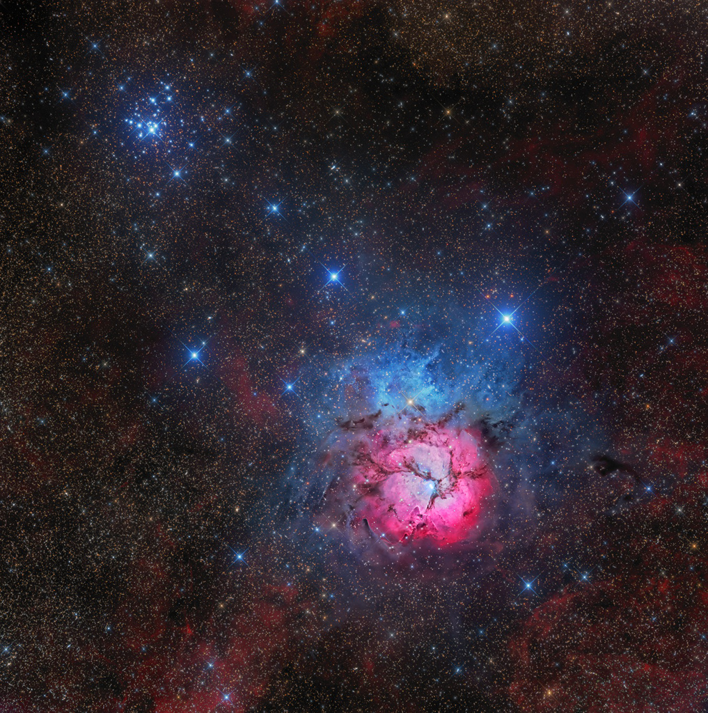 Messier 20 y 21