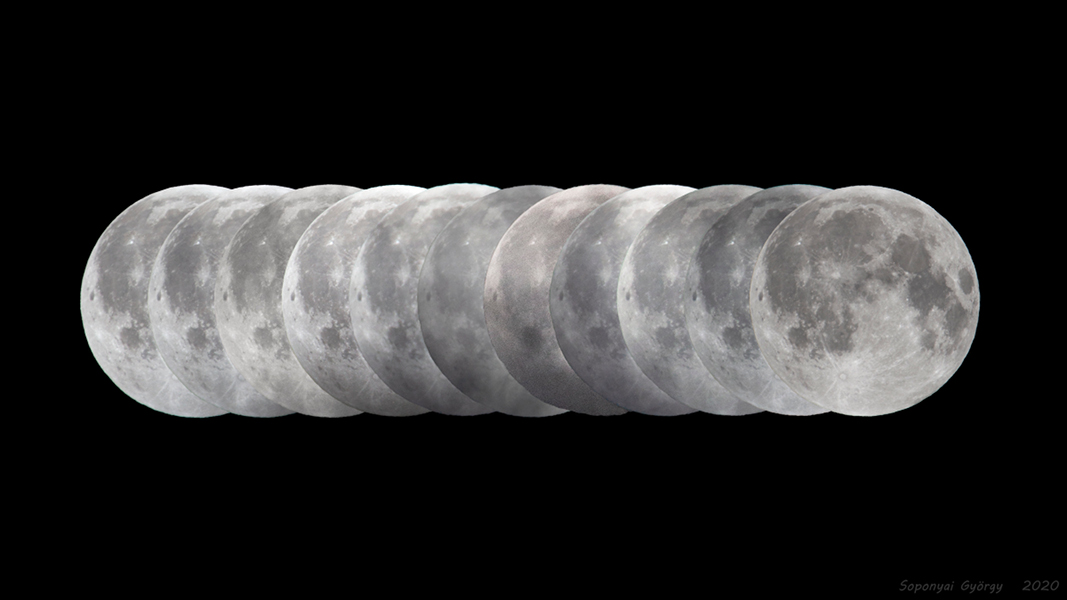 Téměř zatmění Měsíce