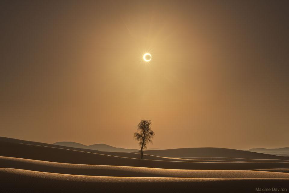 Un eclipse del desierto