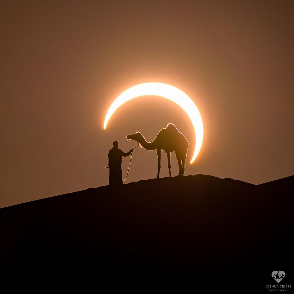 Sluneční zatmění nad UAE