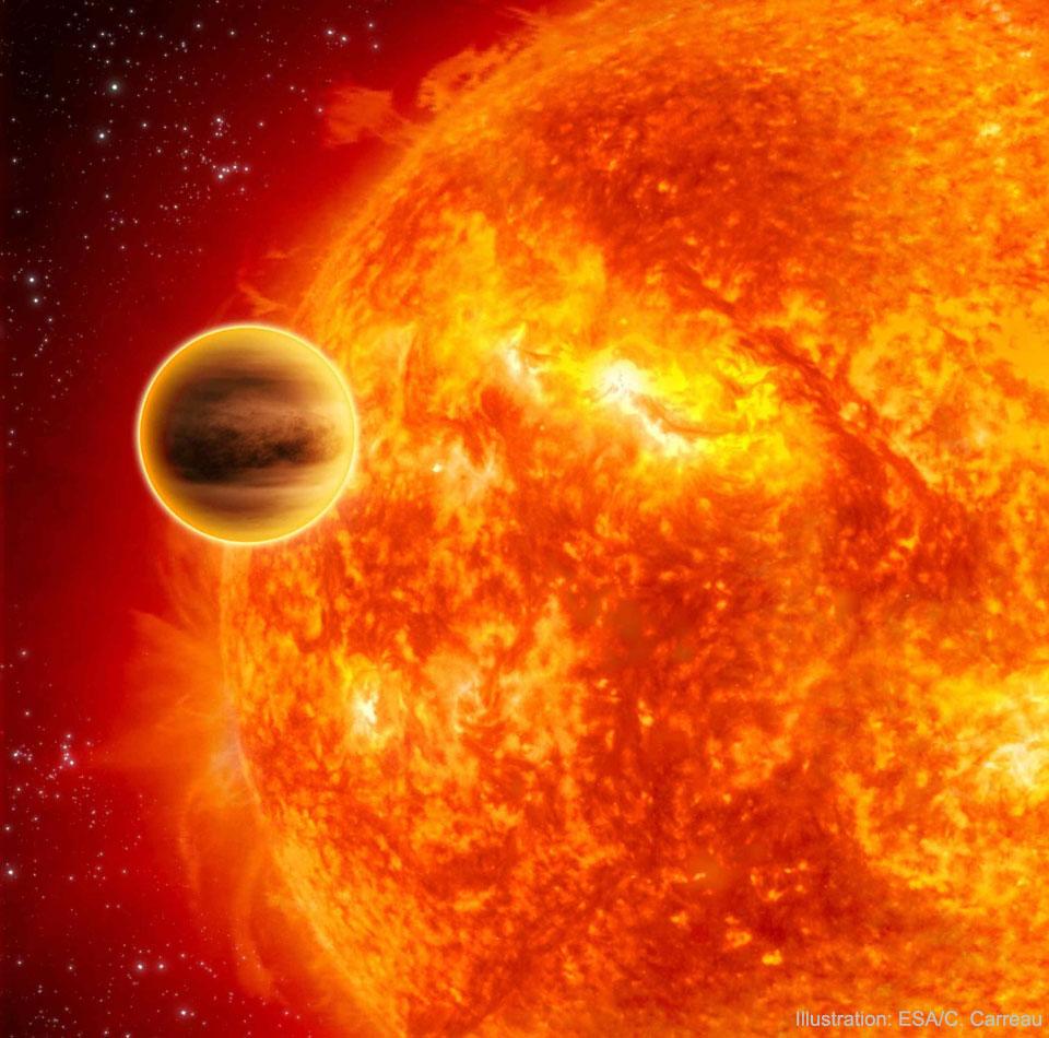 NGST 10b: Objev planety odsouzené k zániku