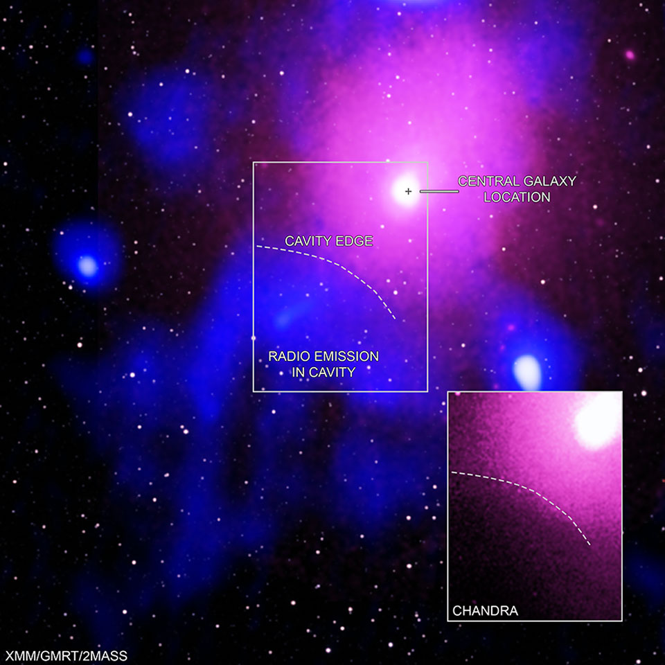 Extrémní výbuch černé díry